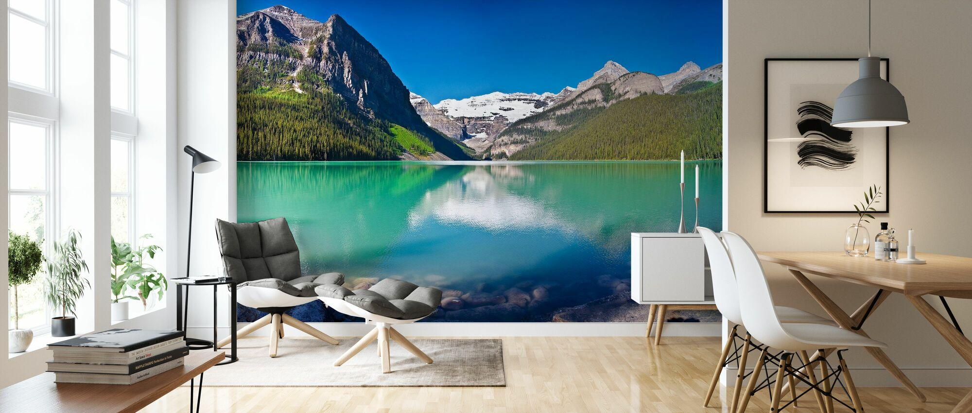 Lake Louise, Alberta, Canada, North America, Panorama - Wallpaper - Living Room