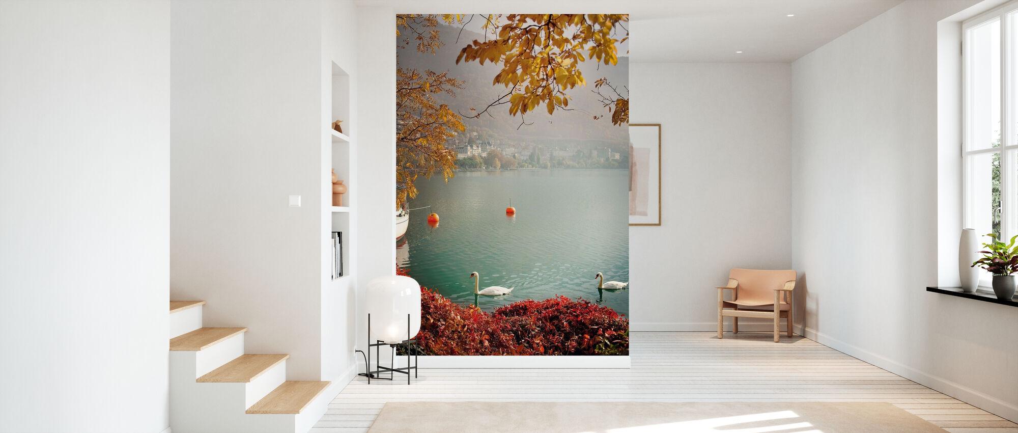 Autumn in Montreux, Switzerland, Europe - Wallpaper - Hallway