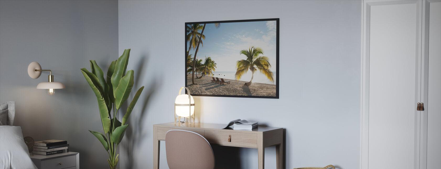 Strand i Islamorada i Florida Keys, USA - Plakat - Soverom