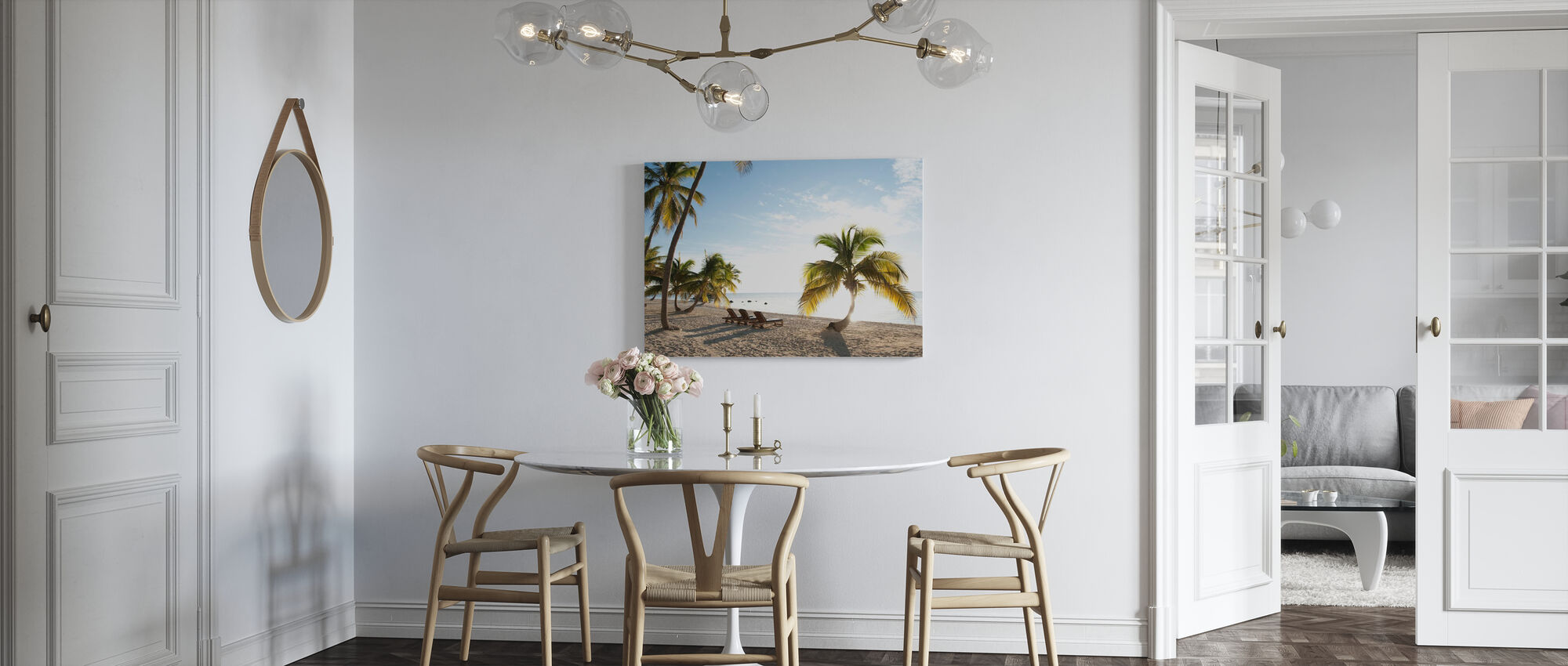 Beach in Islamorada in Florida Keys, USA - Canvas print - Kitchen