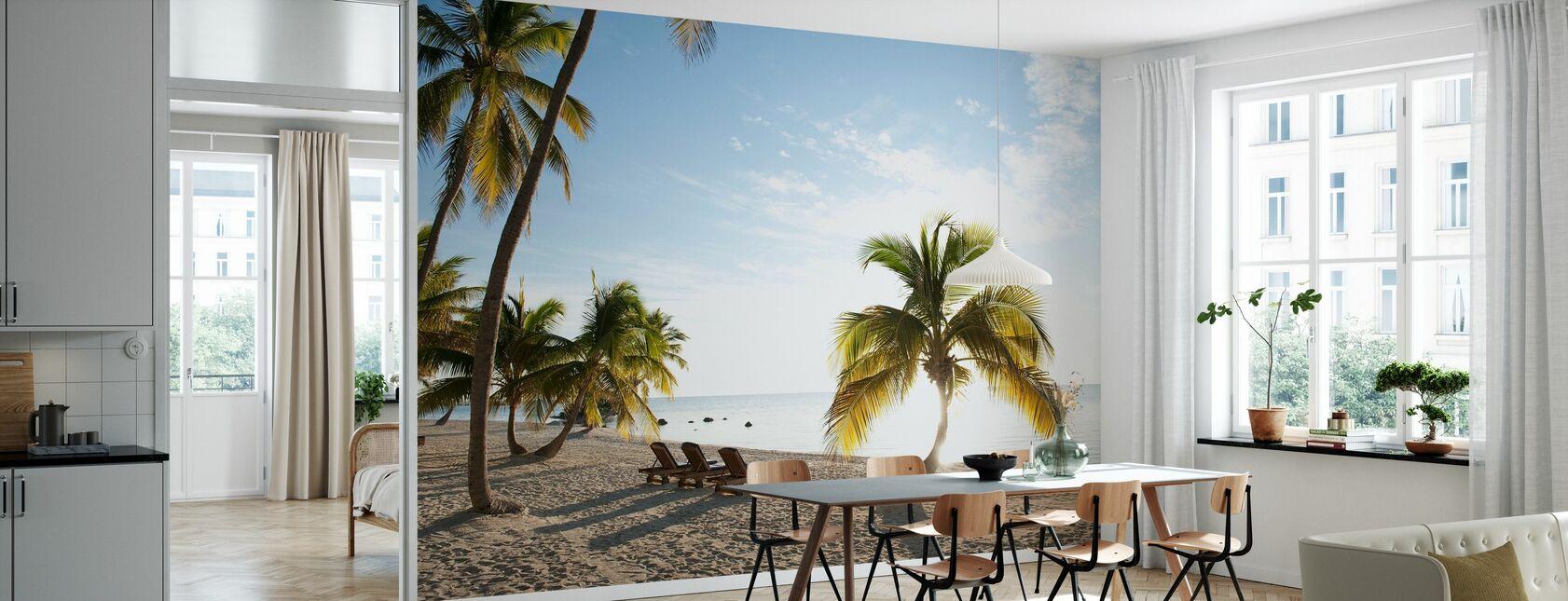 Beach in Islamorada in Florida Keys, Yhdysvallat - Tapetti - Keittiö