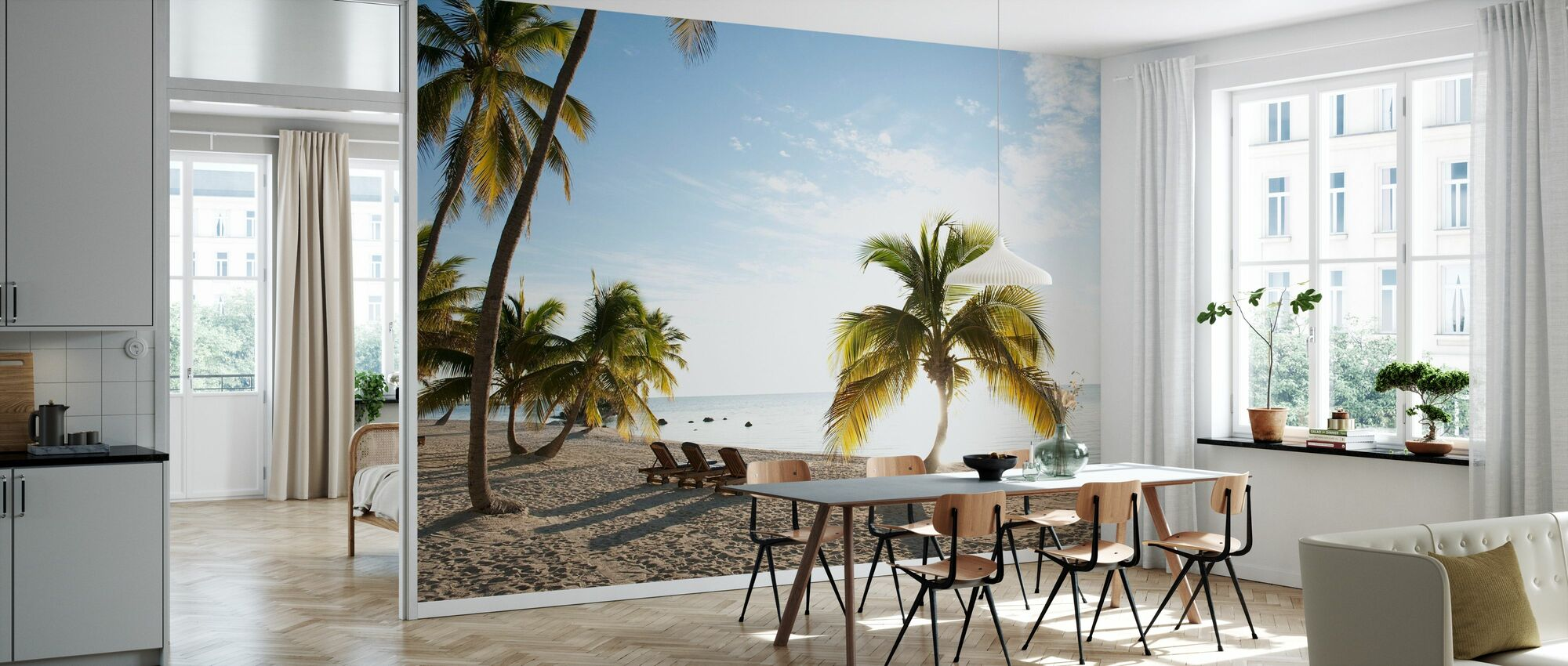 Beach in Islamorada in Florida Keys, USA - Wallpaper - Kitchen