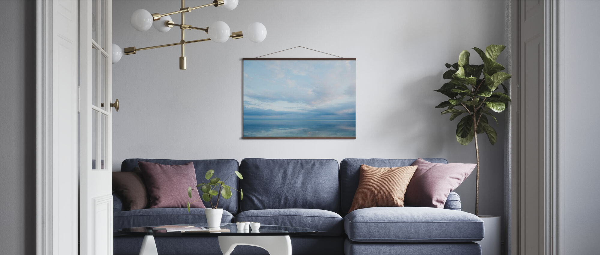 Islamorada in Florida Keys, USA - Poster - Living Room