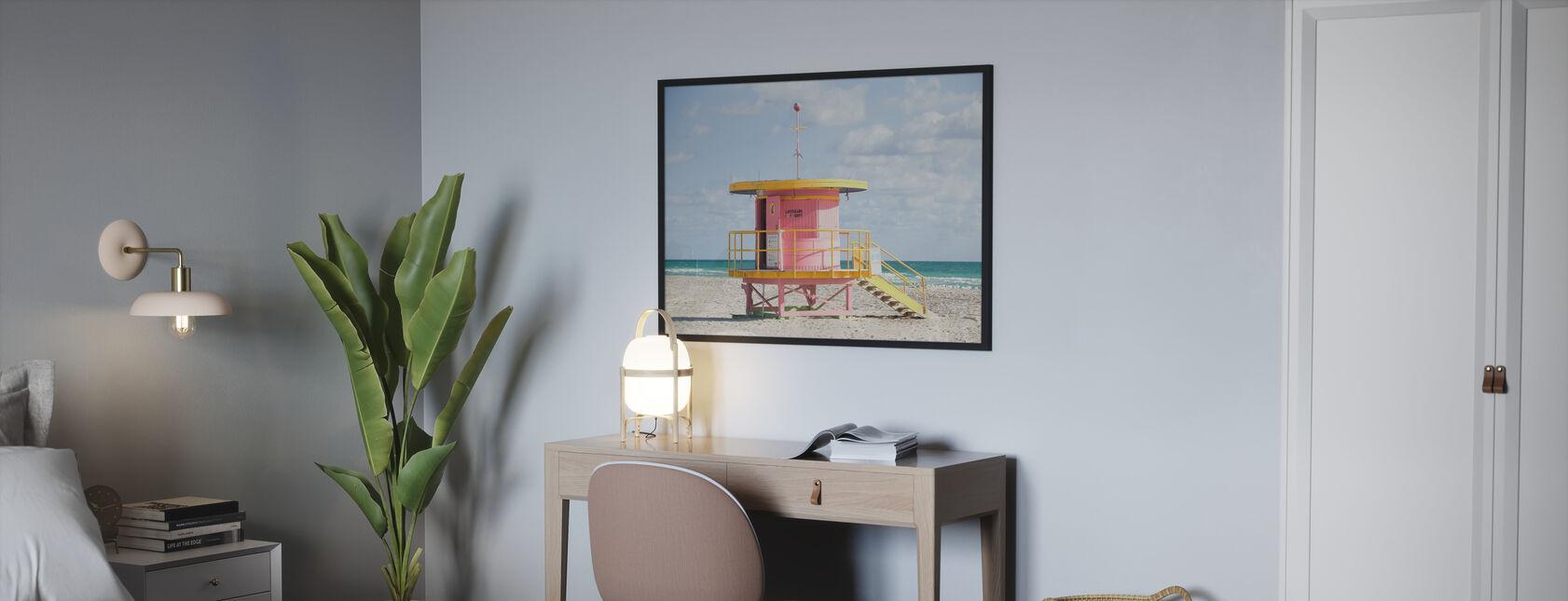 Tårnet i Miami, USA - Plakat - Soverom