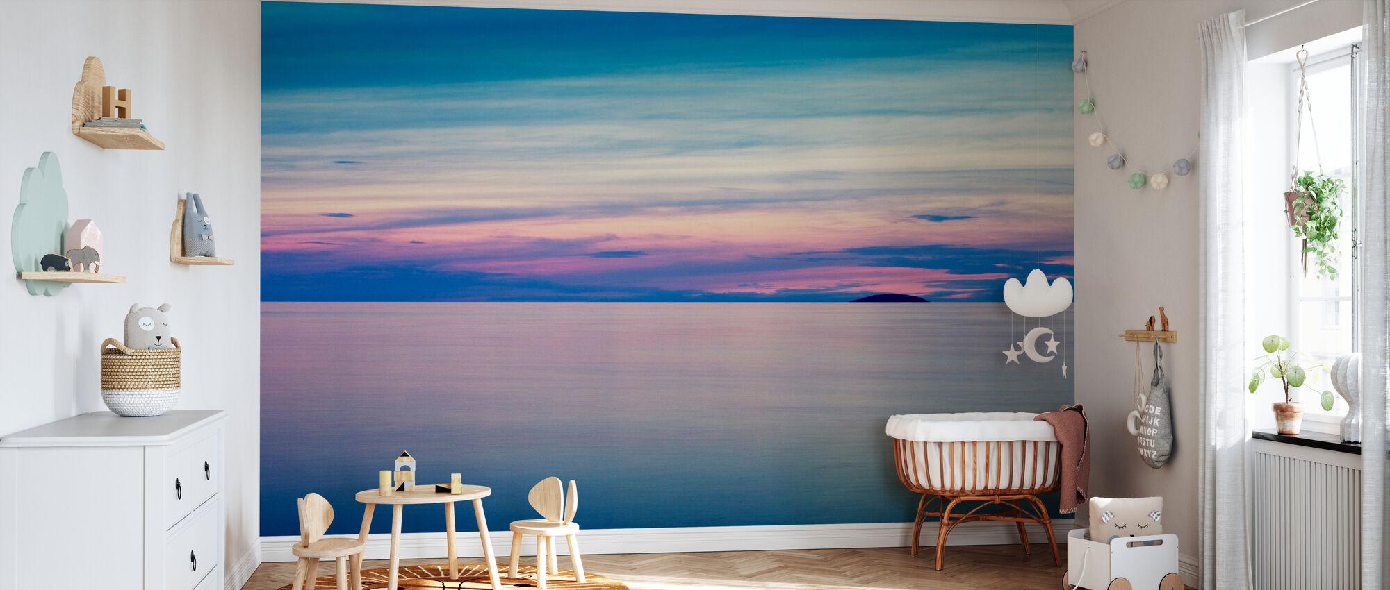 Swedish Summer Horizon, Öland - Tapet - Babyrum