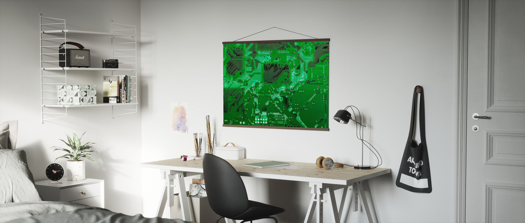Circuit Board - Poster - Office