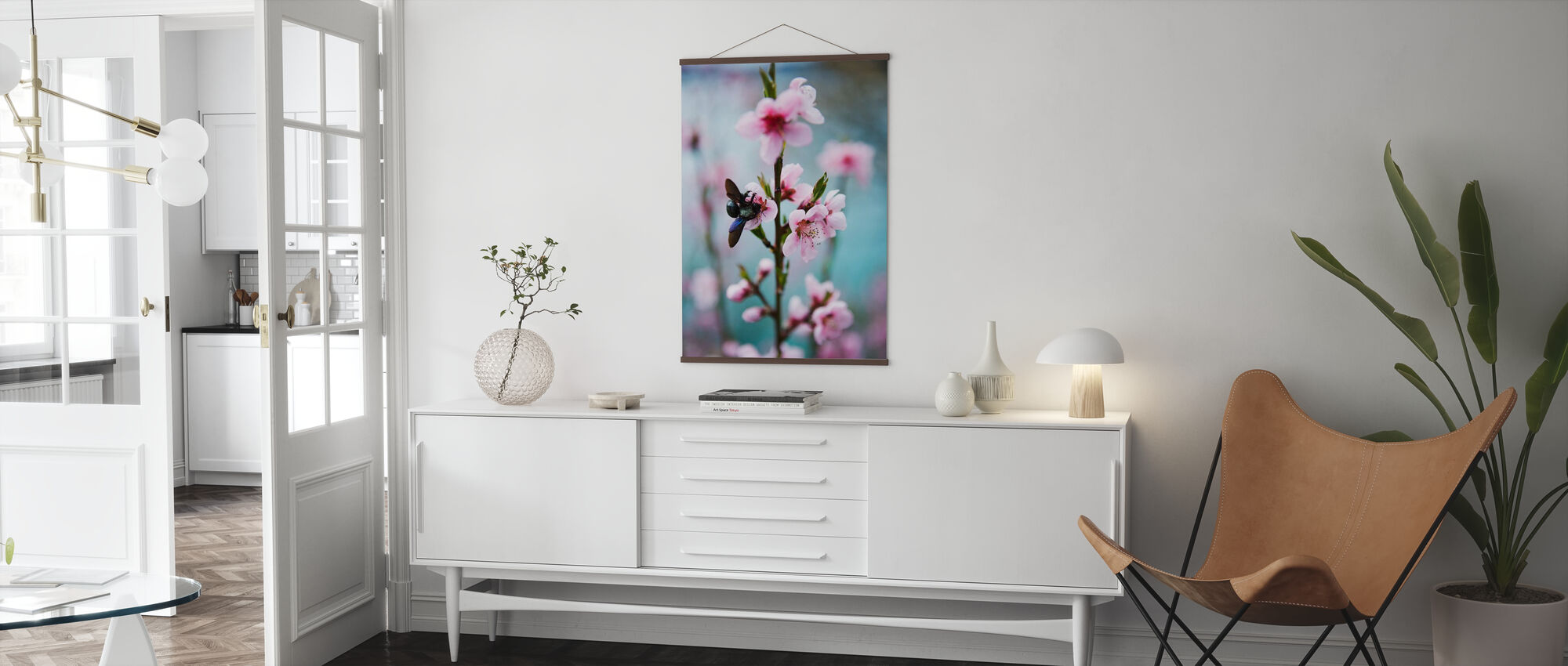 Blomst fra Provence - Plakat - Stue
