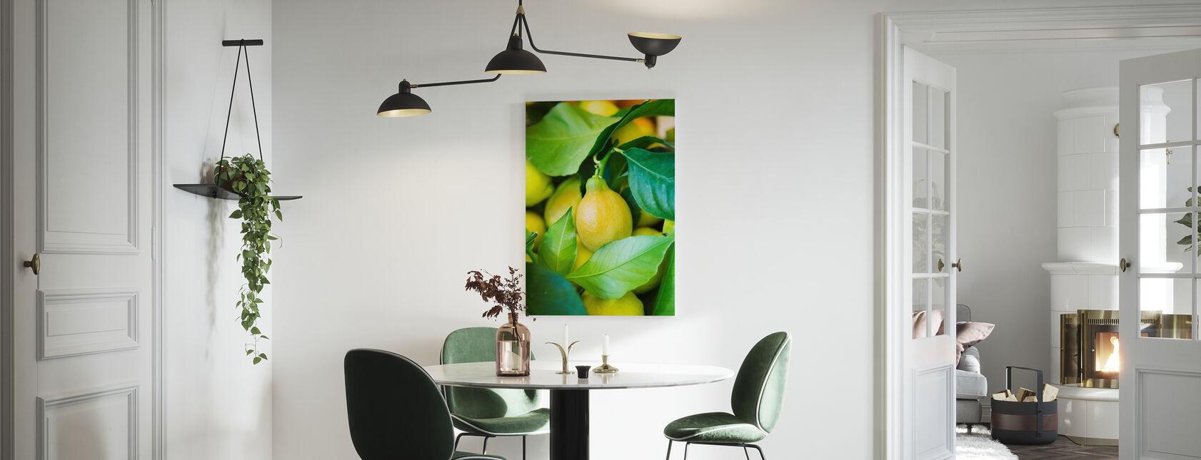 French Lemon - Canvas print - Kitchen