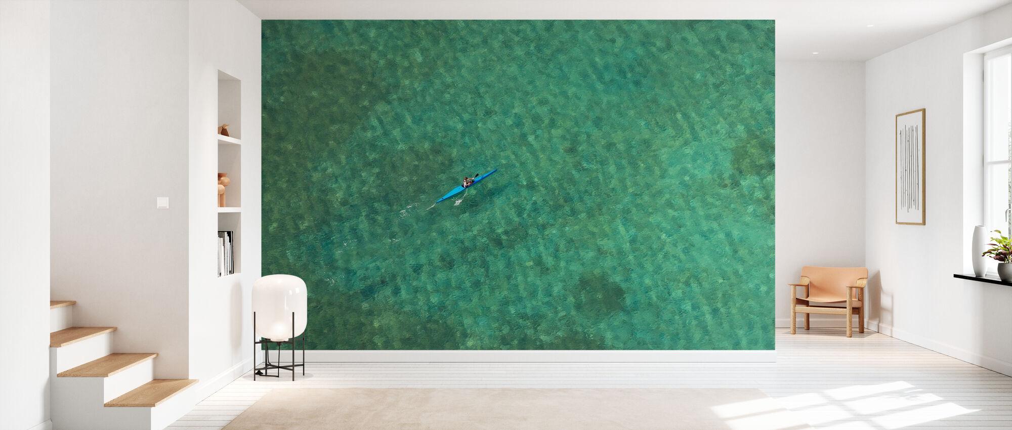Alone in the Atlantic - Wallpaper - Hallway