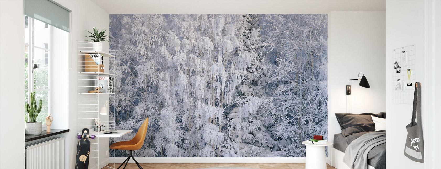 Ice Trees of Salem, Oregon, USA - Wallpaper - Kids Room