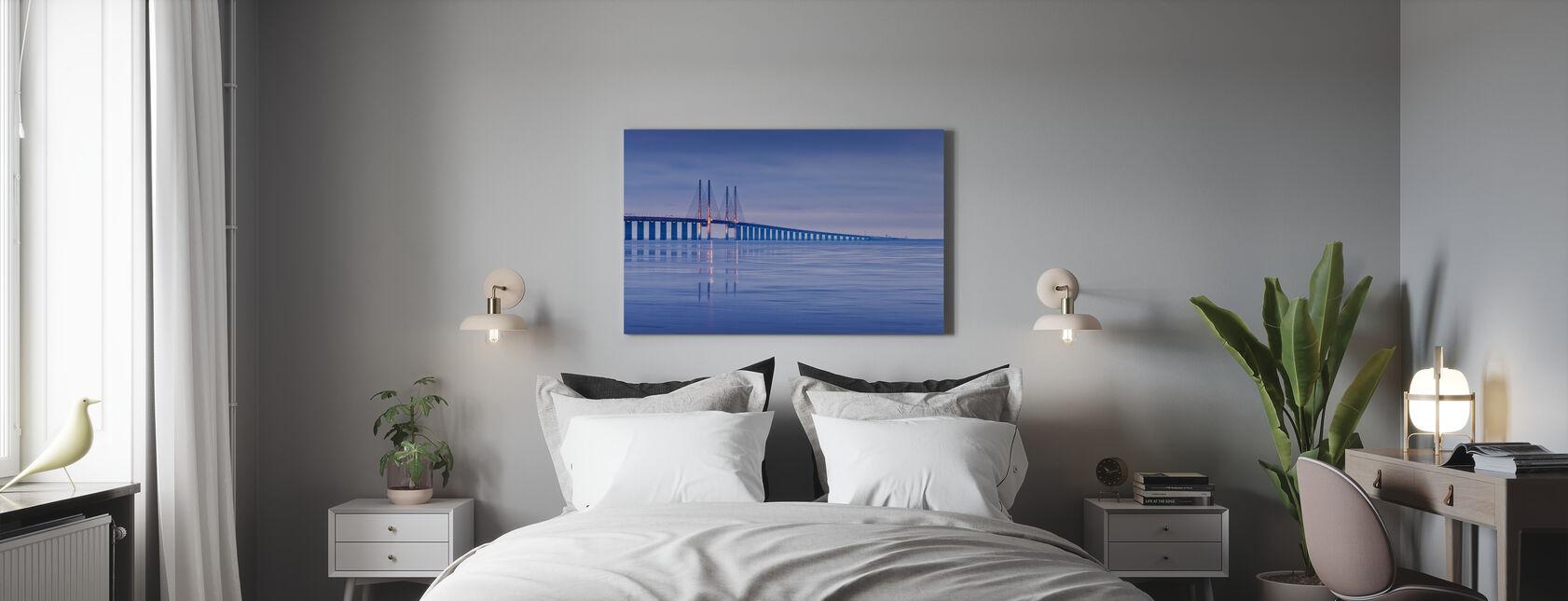 Oresund Bridge - Canvas print - Bedroom