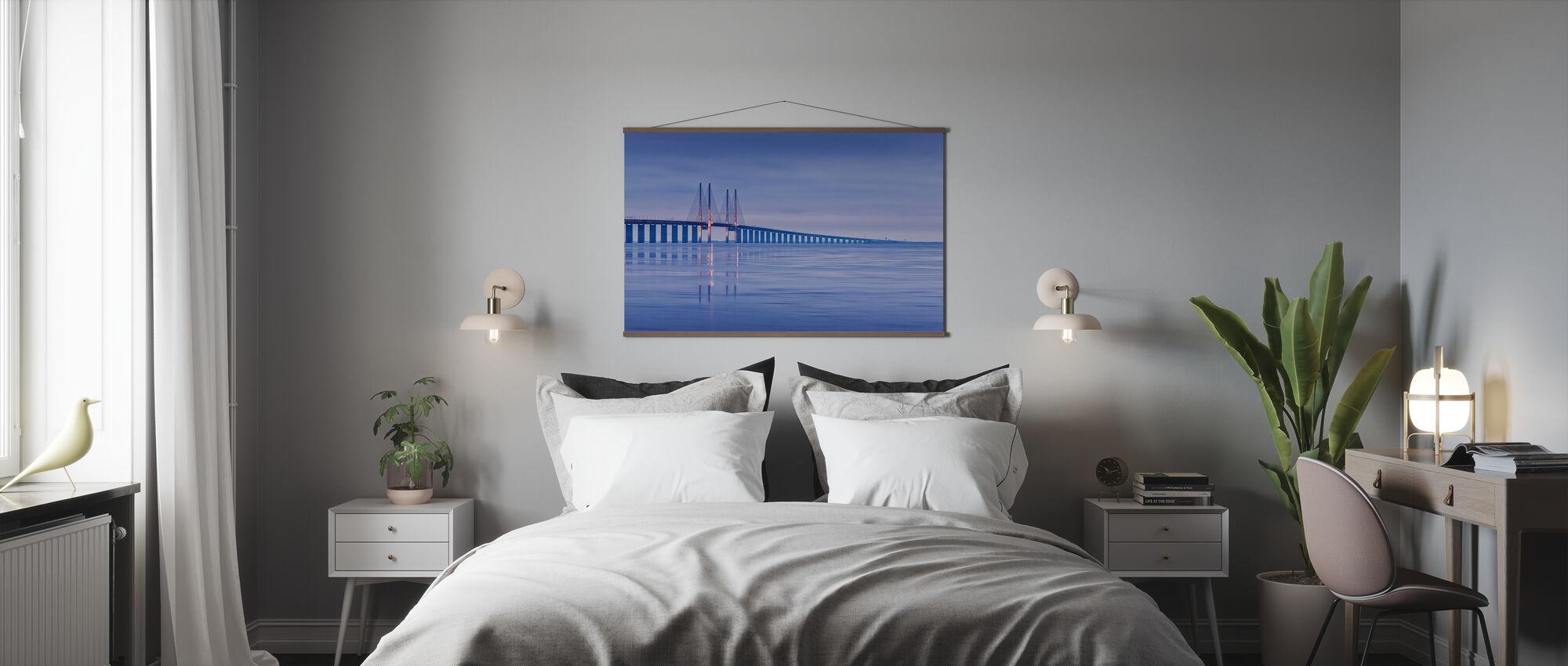 Oresund Bridge - Poster - Bedroom
