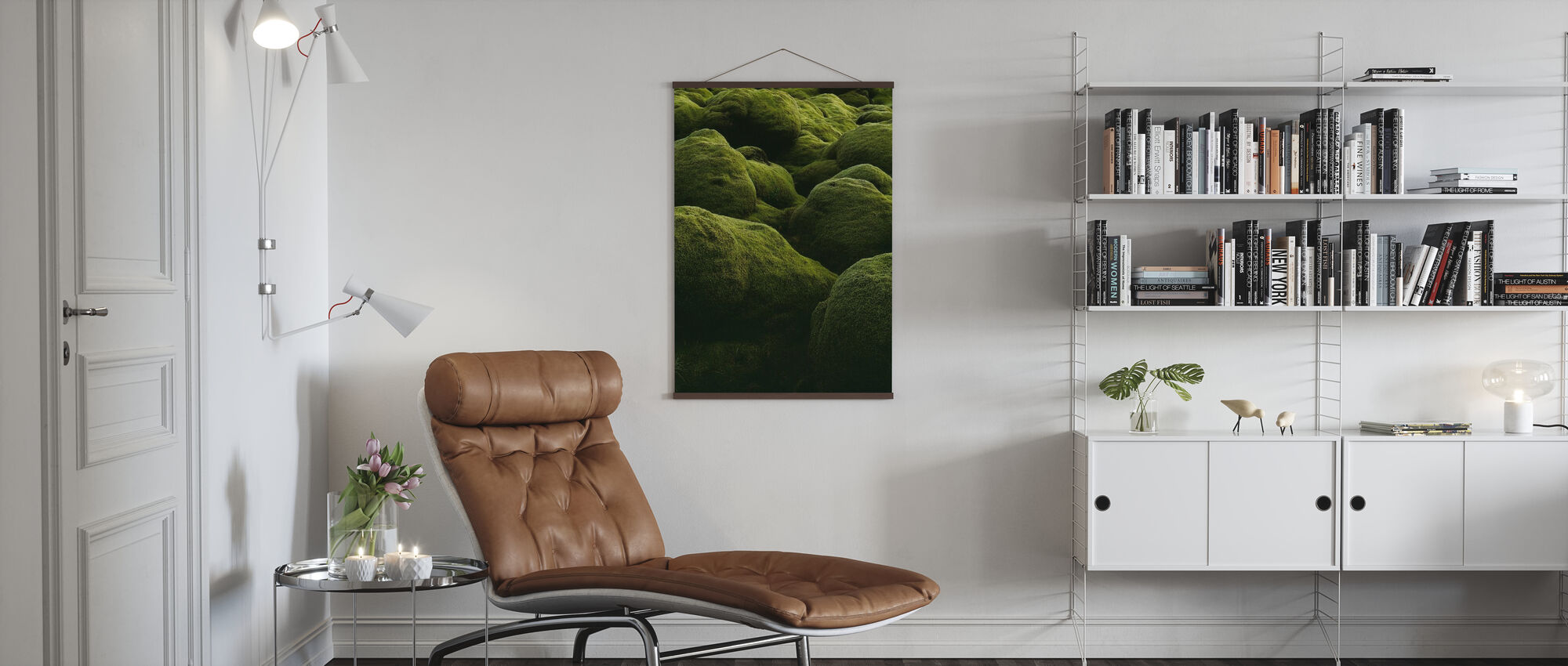 Stones of Iceland - Poster - Living Room