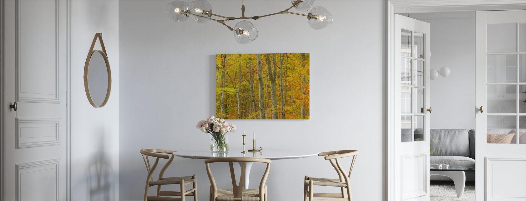 Beukenbos - Canvas print - Keuken
