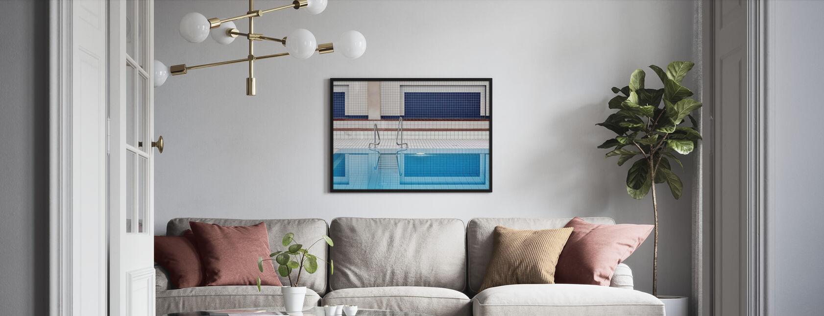 Schwimmen - Gerahmtes bild - Wohnzimmer