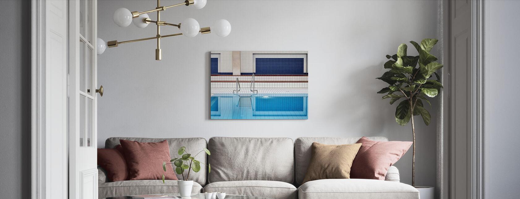 Swimming - Canvas print - Living Room