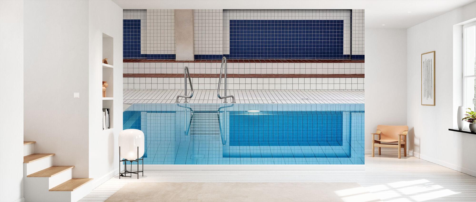 Swimming - Wallpaper - Hallway