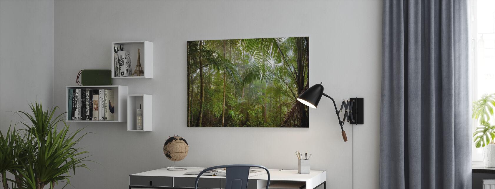 Borneo Tropisch regenwoud - Canvas print - Kantoor