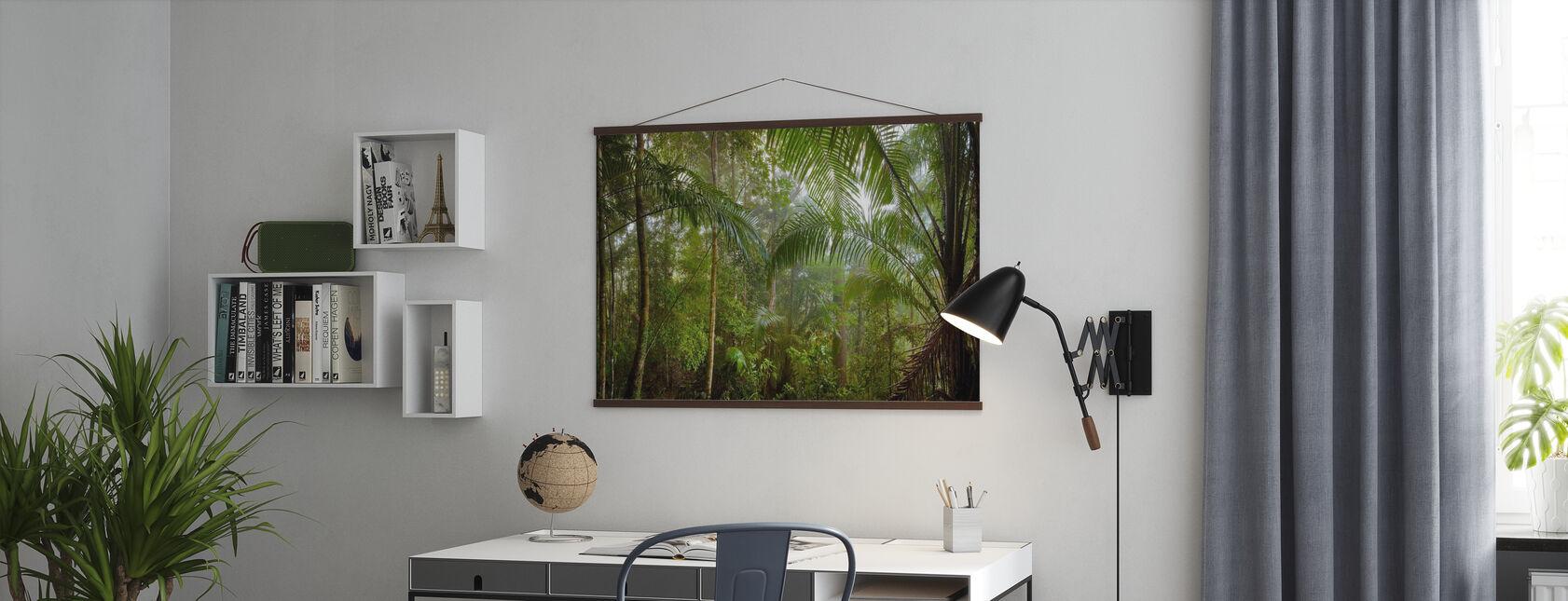 Borneo Tropical Rainforest - Poster - Office