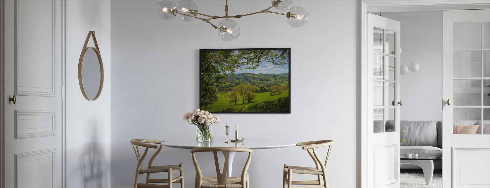 English Country Scene - Poster - Kitchen