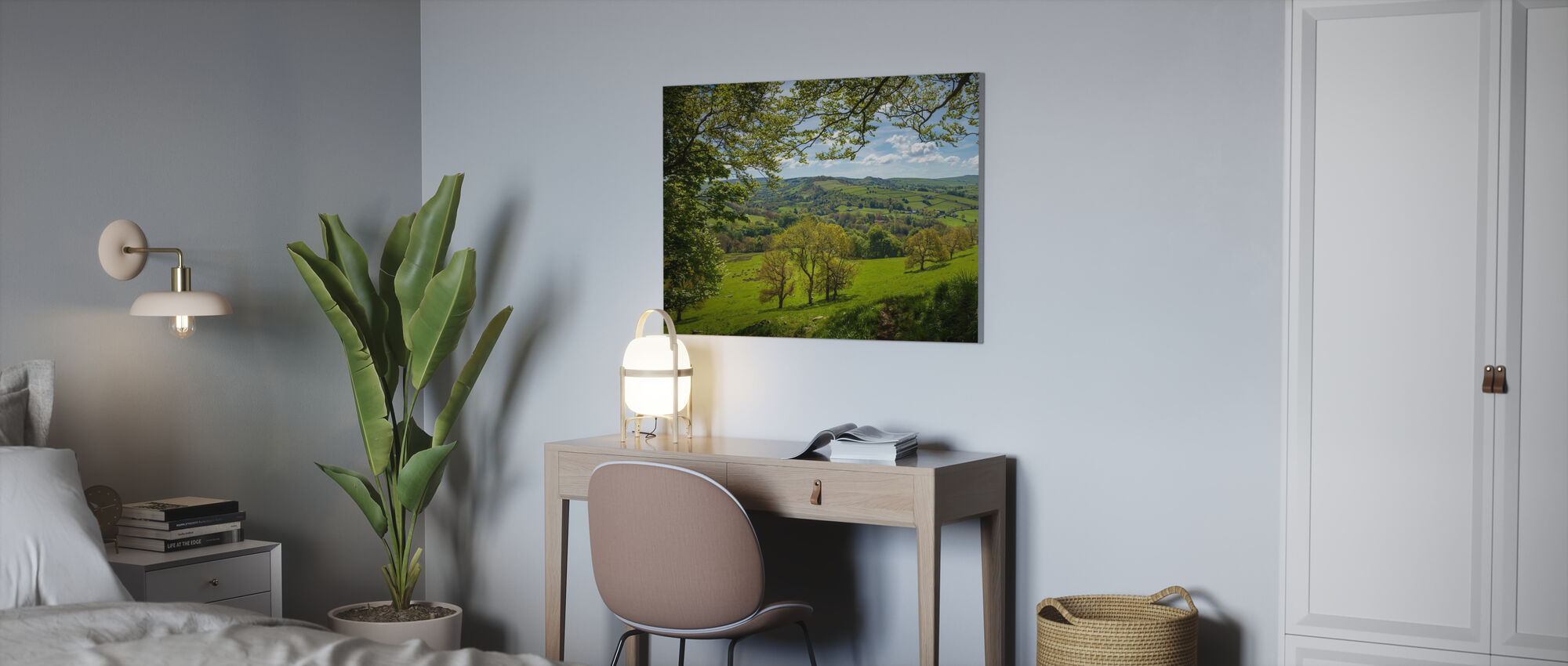 English Country Scene - Canvas print - Office