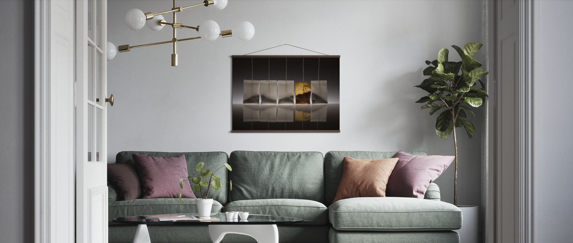 Teascape - Poster - Living Room