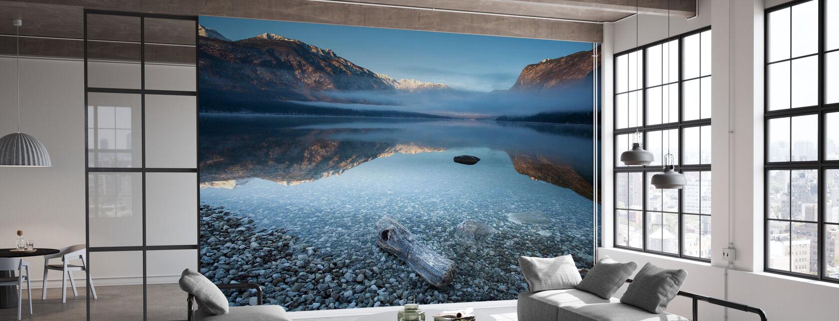 Bohinj's Tranquility - Wallpaper - Office
