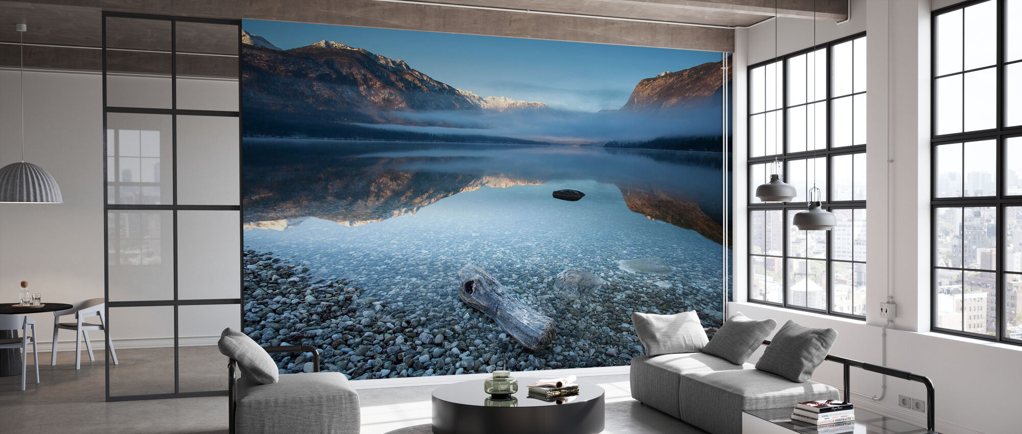 Bohinj's Tranquility - Wallpaper - Office