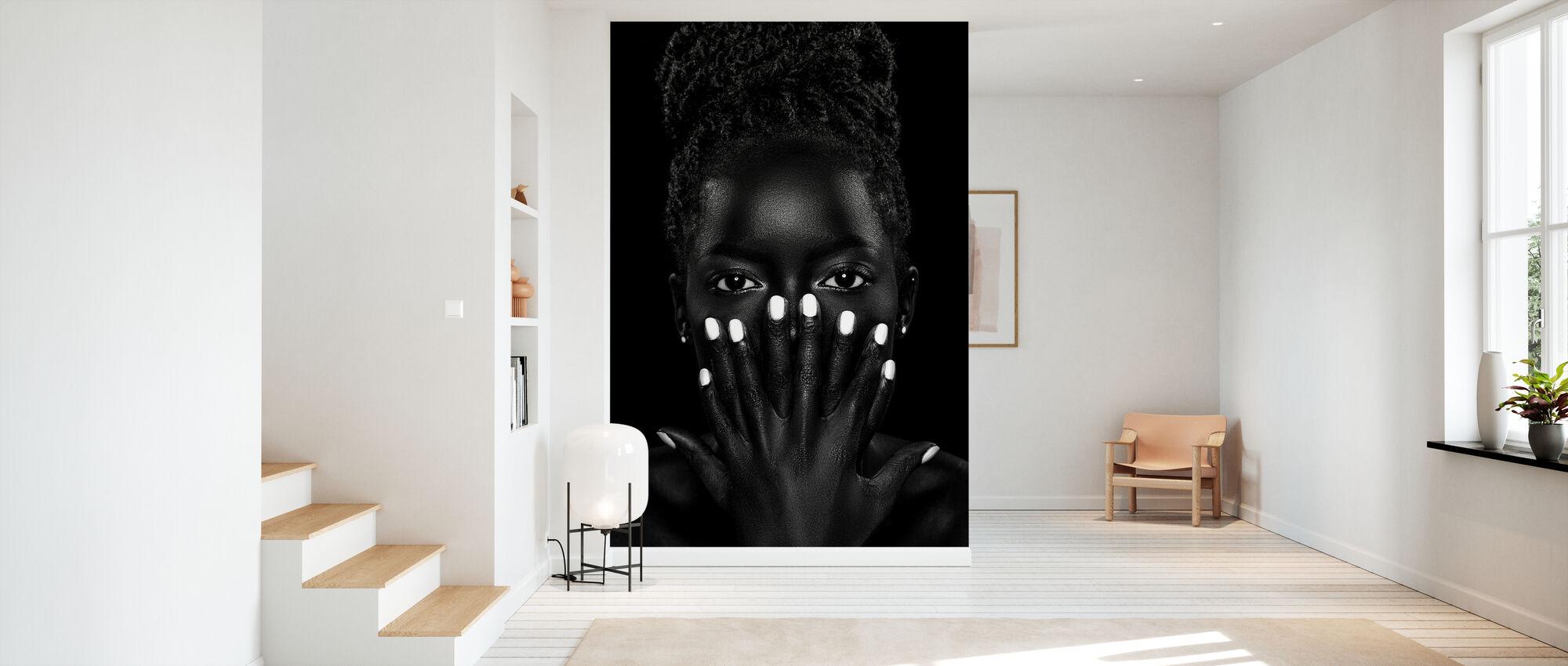 Brenda, mustavalkoinen - Tapetti - Aula