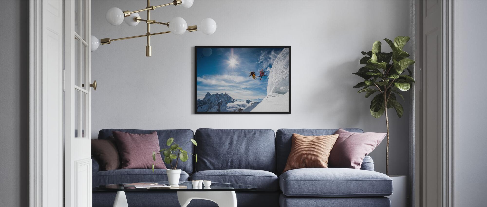 Hyppää legendoja - Kehystetty kuva - Olohuone