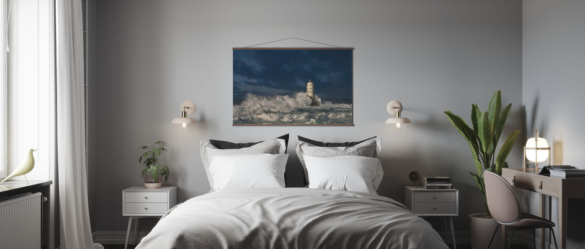 Vuurtoren Vogeleters - Poster - Slaapkamer