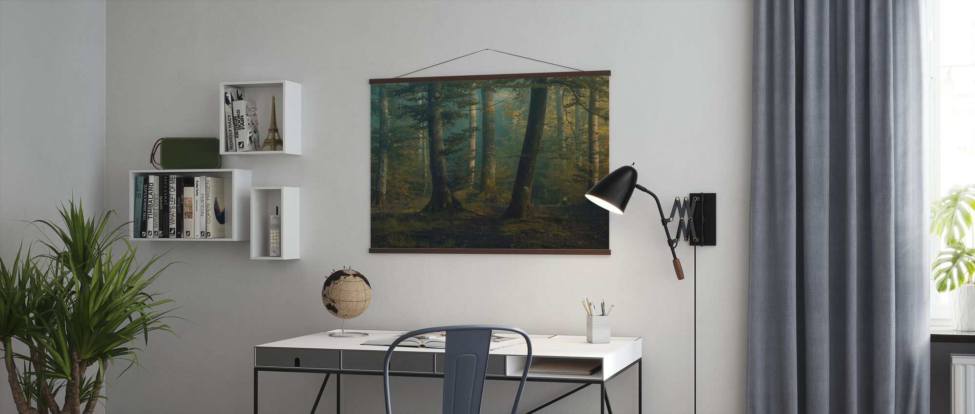 October Colors - Poster - Office