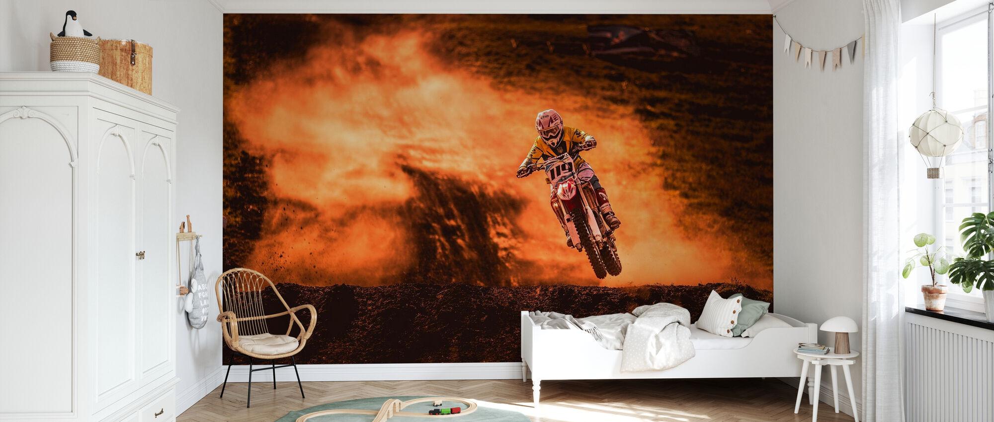 Above - Wallpaper - Kids Room