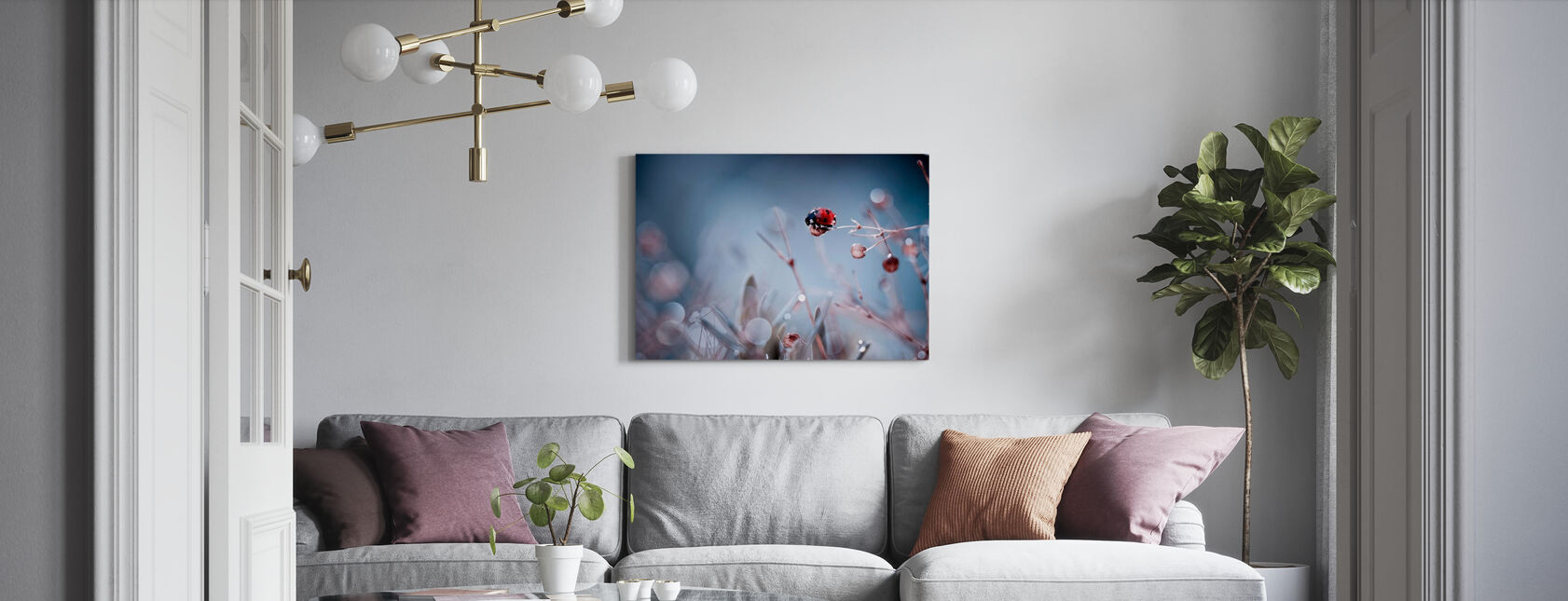 High Diving - Canvas print - Living Room