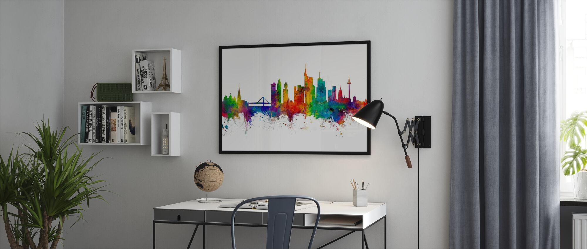 Skyline Frankfurt - Poster - Büro