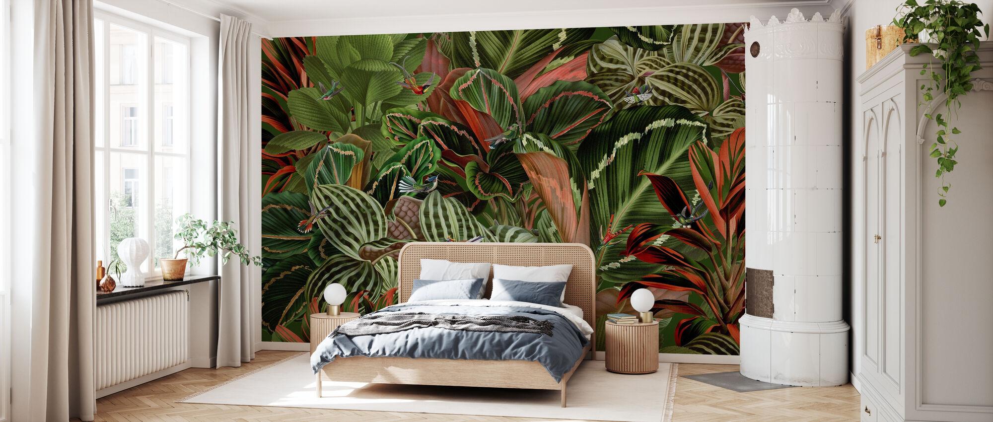 Paradiesvögel - Tapete - Schlafzimmer