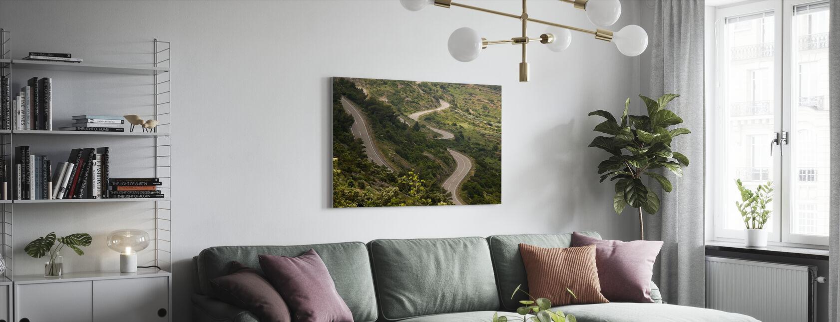 Country Road, Croazia - Stampa su tela - Salotto