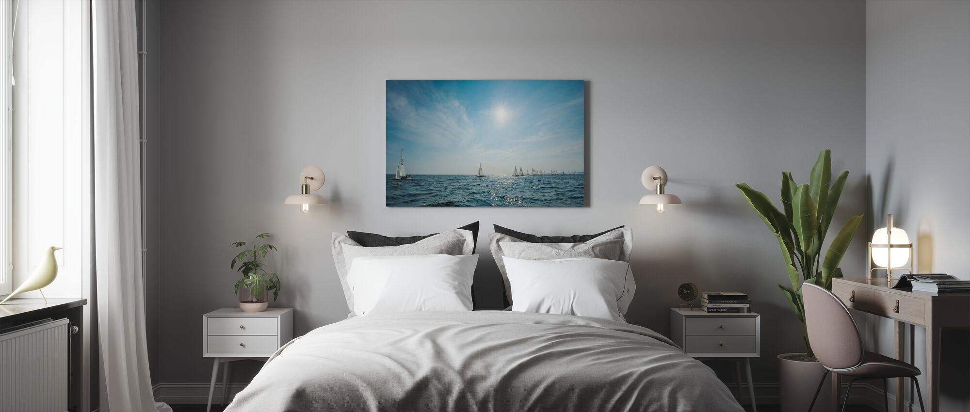 The Archipleago of Nynashamn, Sweden - Canvas print - Bedroom
