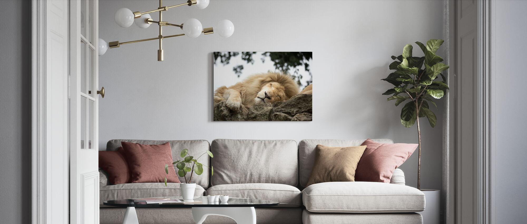 Great Mane - Canvas print - Living Room