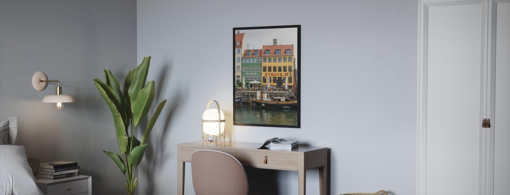 Nyhavn 17, Kopenhagen, Dänemark - Poster - Schlafzimmer