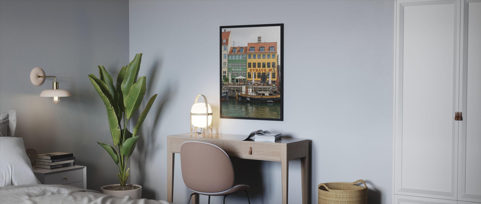 Nyhavn 17, København, Danmark - Plakat - Soverom