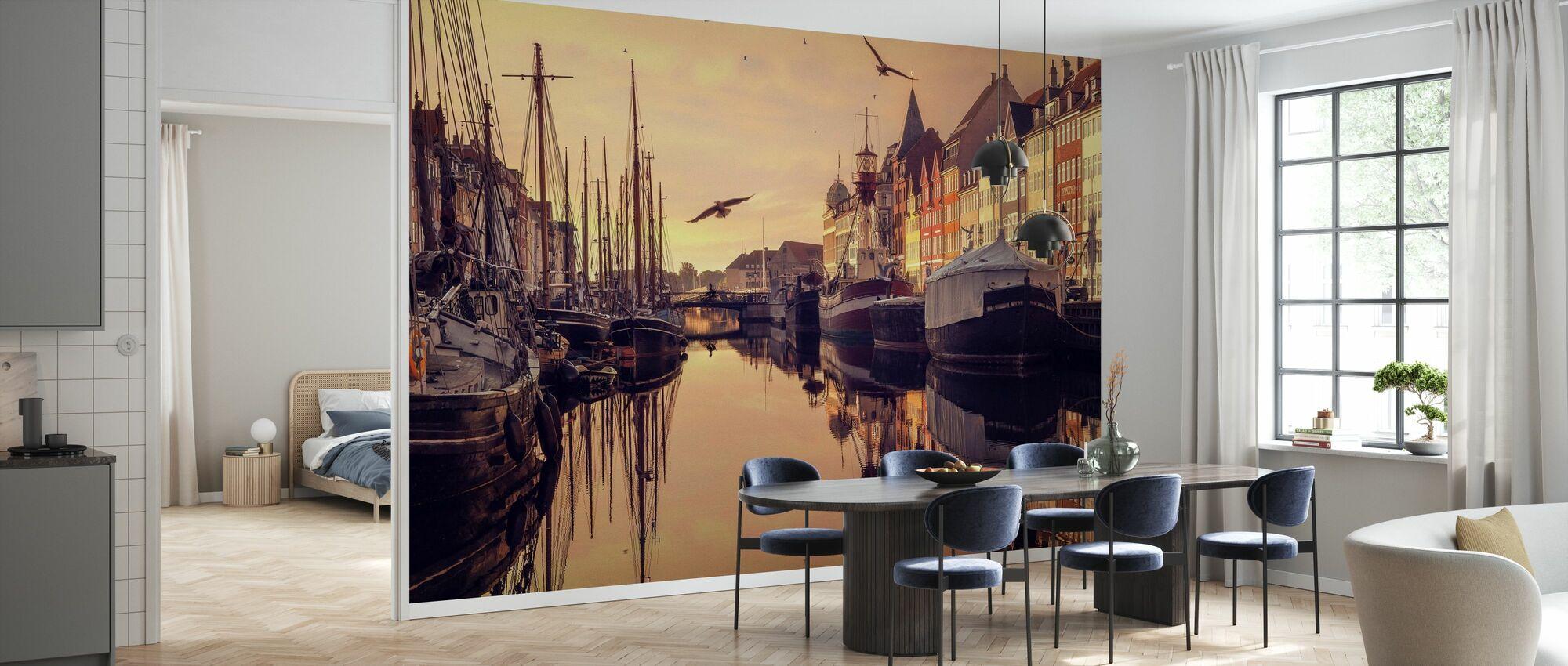 Romantic Köpenhamn, Danmark - Tapet - Kök