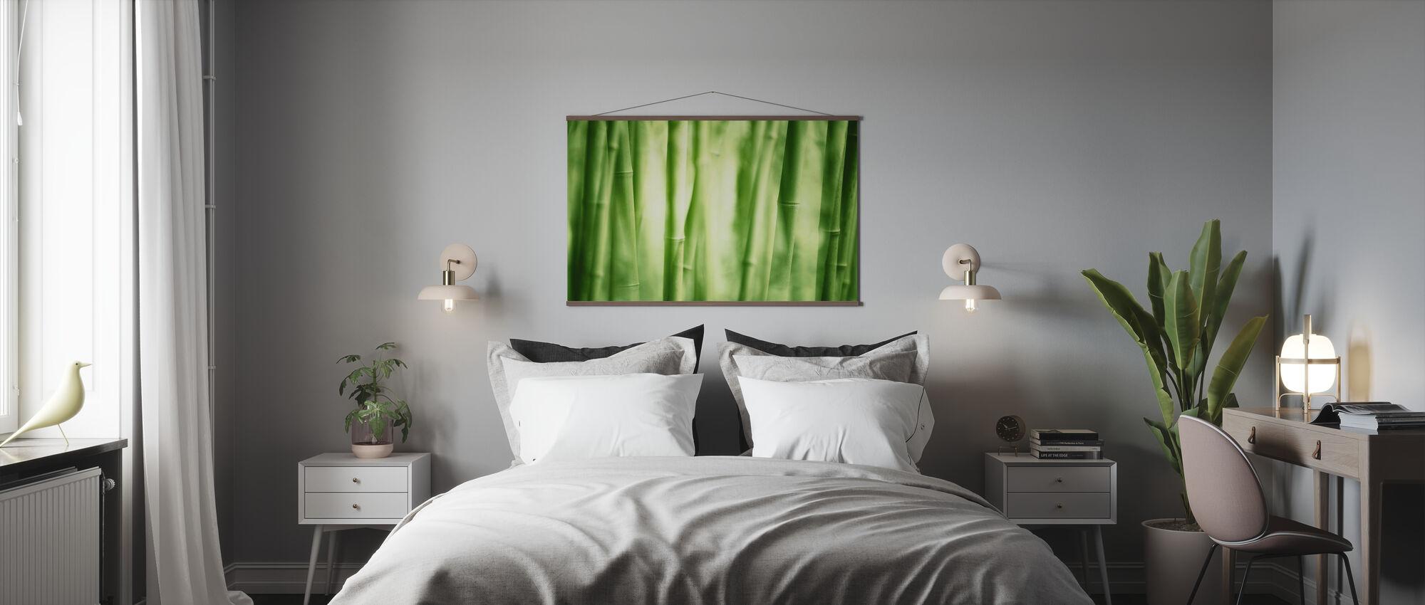Bambus Løvverk - Plakat - Soverom