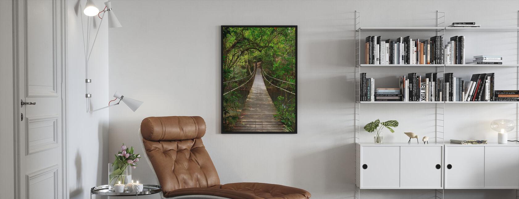 Regnskog vintreet bro - Plakat - Stue