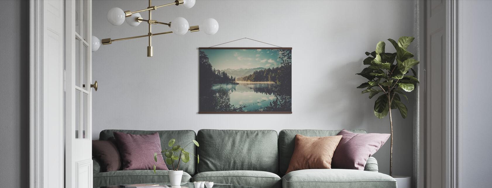 Reis Herinneringen - Poster - Woonkamer