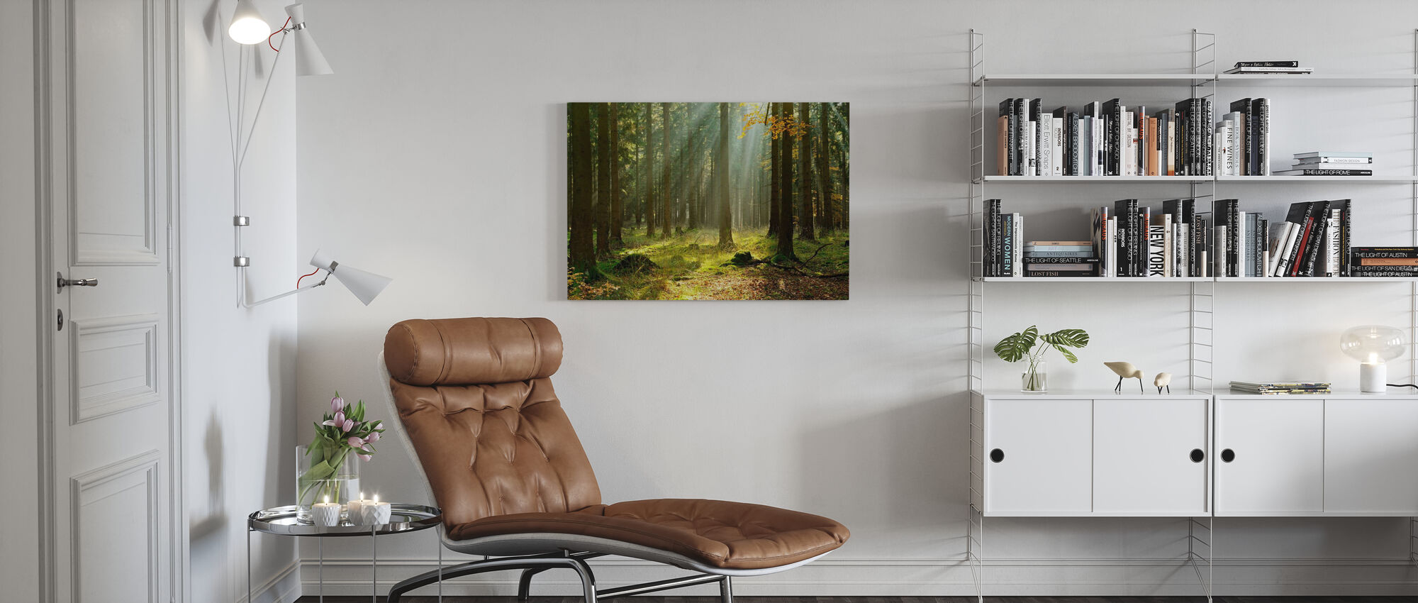 Ethereal Forest - Canvas print - Living Room