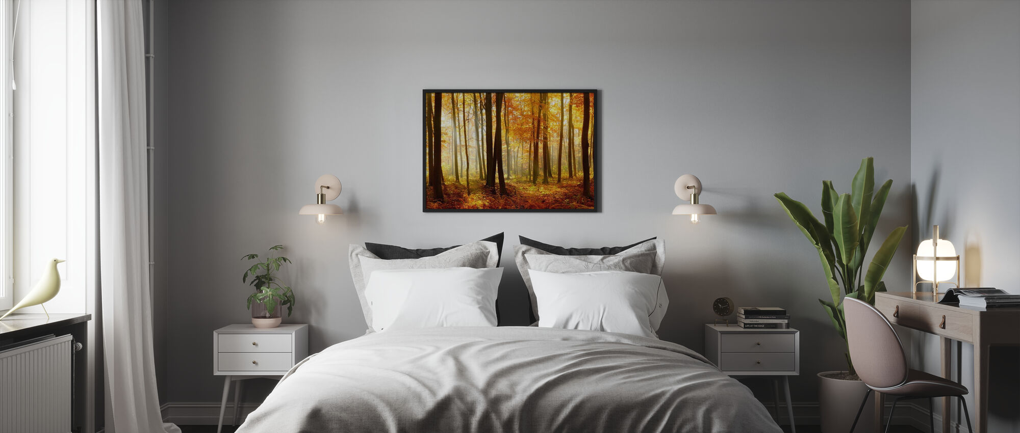 Japanese Forest - Framed print - Bedroom