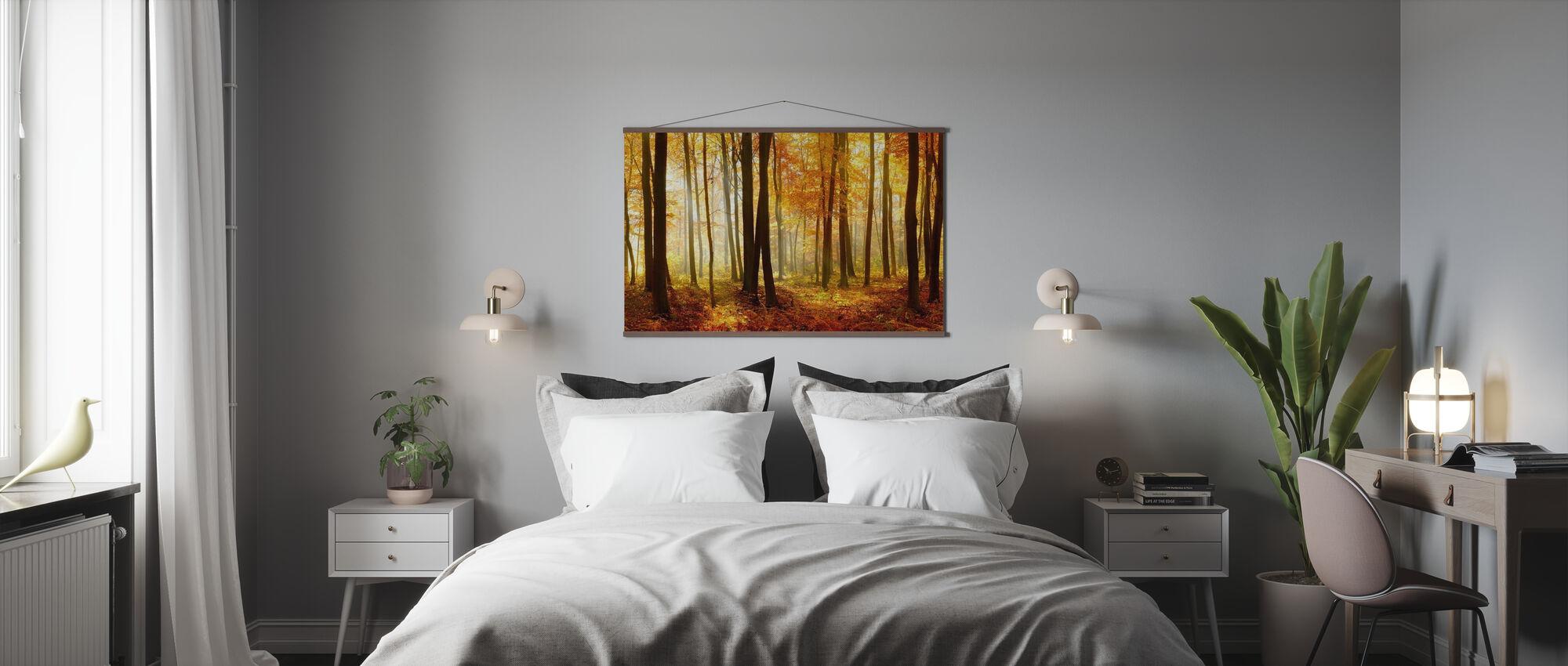 Japanese Forest - Poster - Bedroom