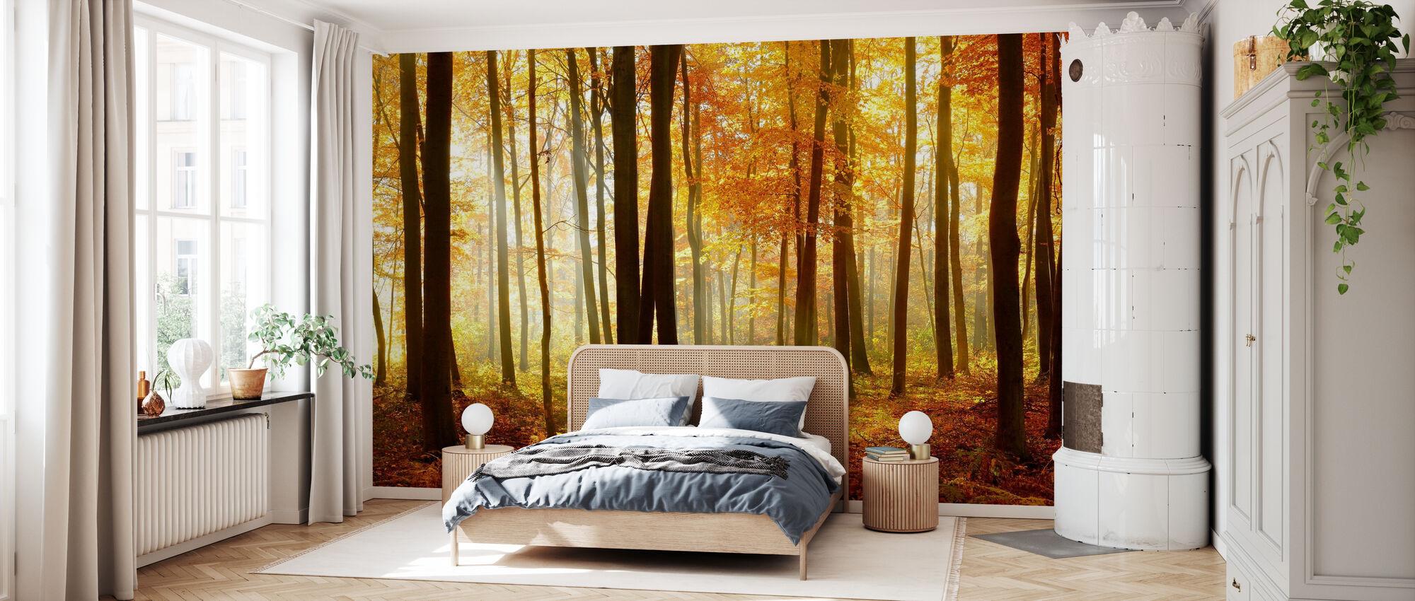 Japanese Forest - Wallpaper - Bedroom