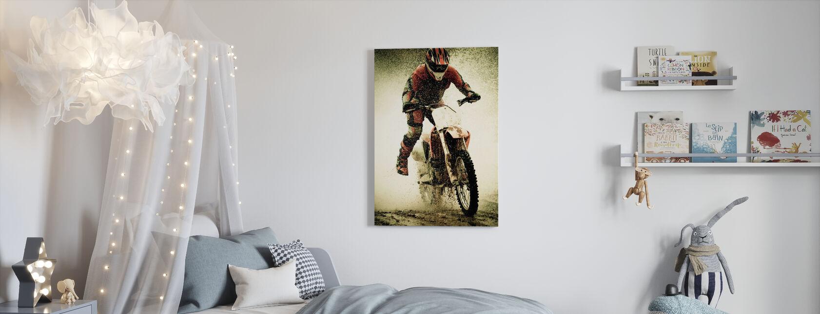 Motorcross - Canvas print - Kinderkamer